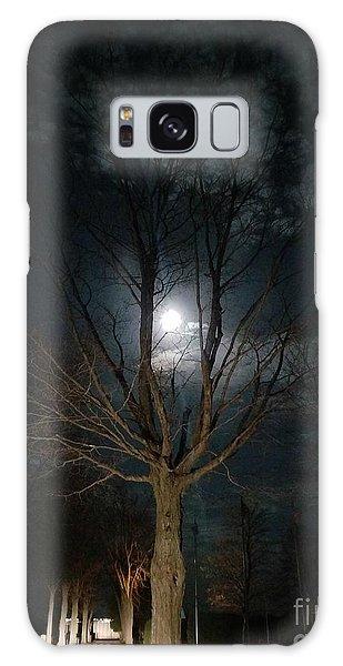 Night At The Graveyard Galaxy Case