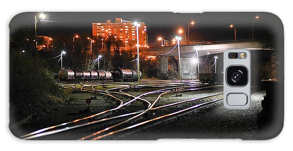 Night At The Railyard Galaxy Case