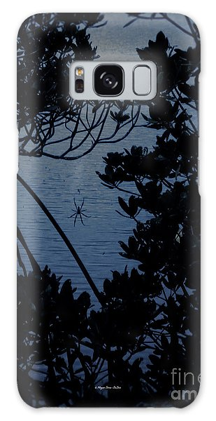 Galaxy Case featuring the photograph Night Banana Spider by Megan Dirsa-DuBois