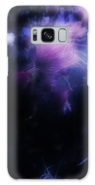 Night Bloom Galaxy Case