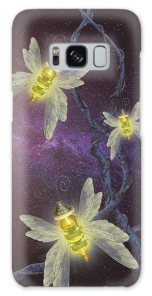 Night Butterflies Galaxy Case