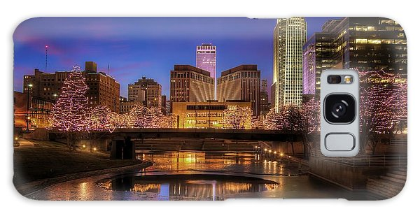 Night Cityscape - Omaha - Nebraska Galaxy Case