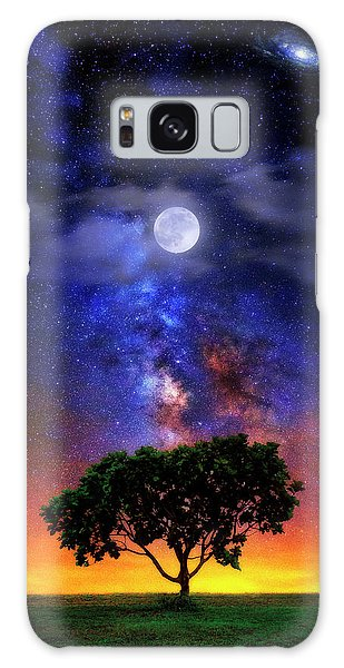 Night Colors Galaxy Case