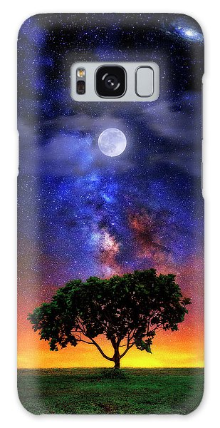Night Colors Galaxy Case by Justin Kelefas
