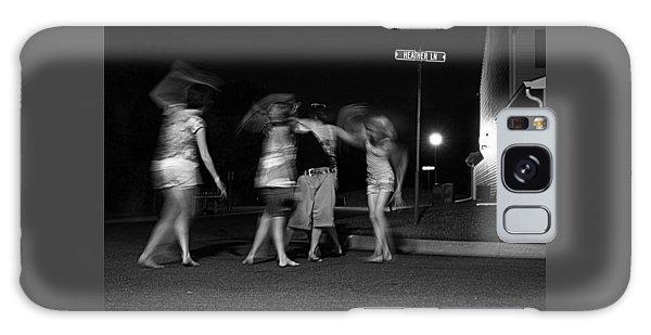 Night Dancing Galaxy Case