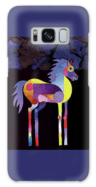 Night Foal Galaxy Case by Bob Coonts