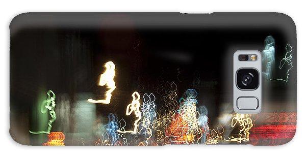 Night Forest - Light Spirits 1 Of 1 Galaxy Case