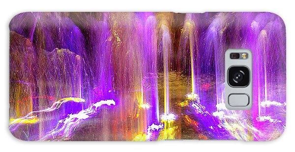 Night Fountain  Galaxy Case