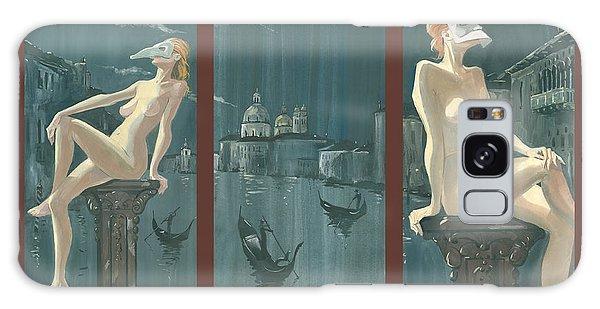 Night In Venice. Triptych Galaxy Case