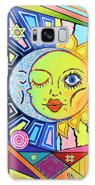 Night Kisses Daylight Galaxy Case by Jeremy Aiyadurai