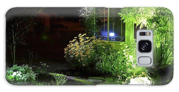 Night Light Garden  Galaxy Case