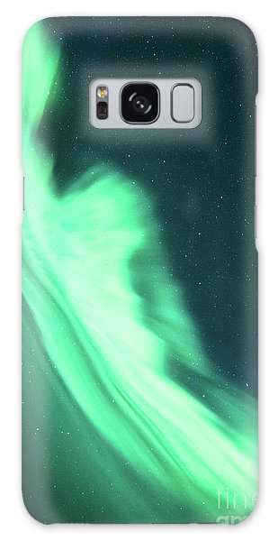 Night Lines Galaxy Case