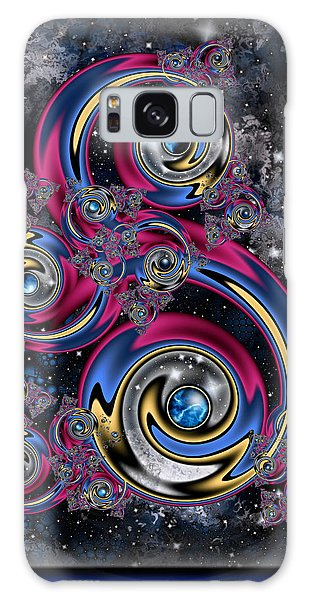 Night Moves Galaxy Case by Kim Redd