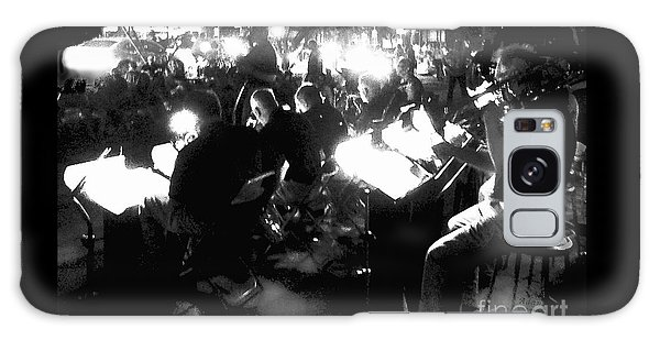 Night Music Galaxy Case by Felipe Adan Lerma