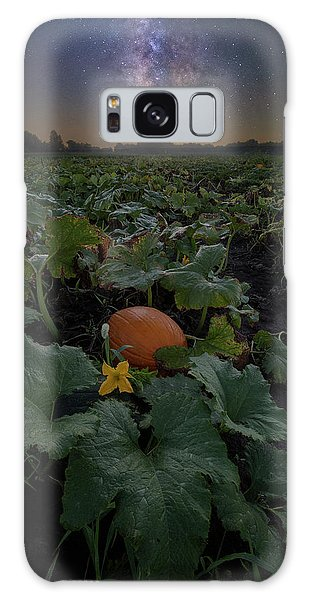 Galaxy Case featuring the photograph Night Of The Pumpkin by Aaron J Groen