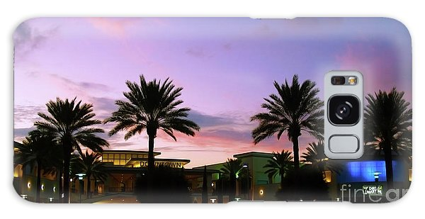 Night On The Town Palm Beach Florida Photo 515 Galaxy Case