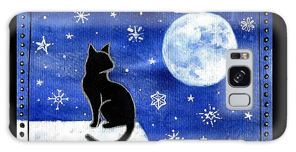 Night Patrol At Wintertime Galaxy Case