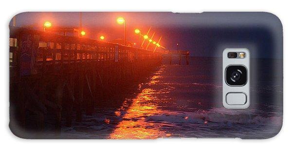 Night Pier Galaxy Case by Gordon Mooneyhan