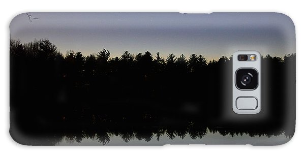 Night Reflects On The Pond Galaxy Case