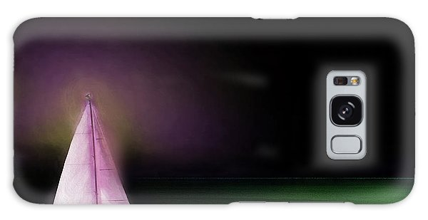 Night Sailing Galaxy Case by Michael Cleere