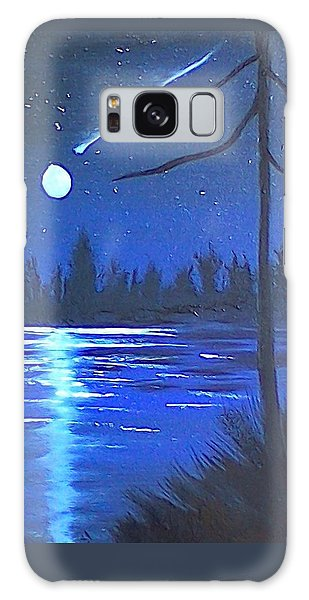 Night Scene Galaxy Case