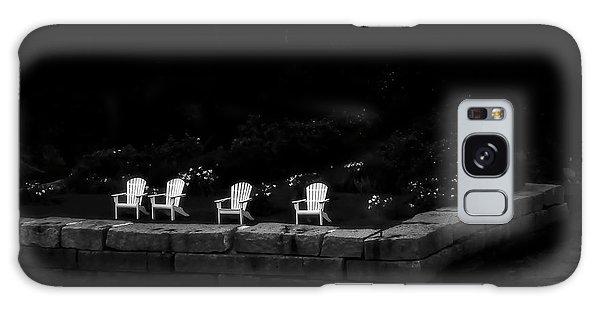 Night Sitting Galaxy Case