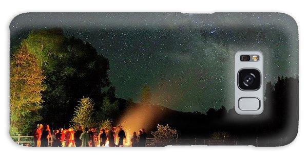 Night Sky Fire Galaxy Case