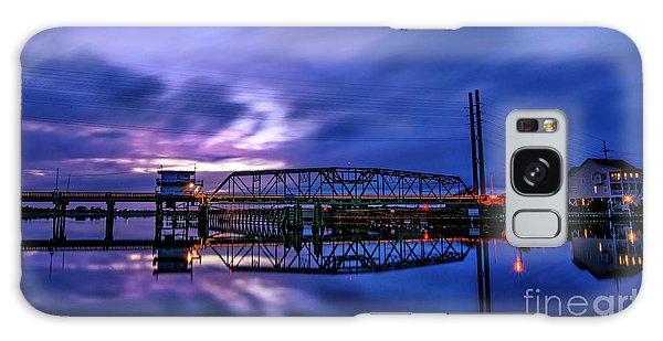 Night Swing Bridge Galaxy Case
