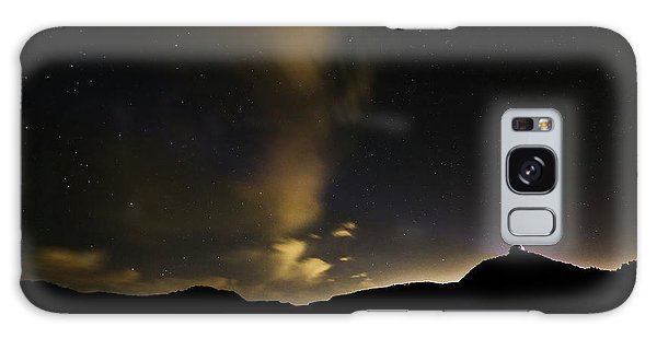 Night Time At Palo Duro Canyon State Park - Texas Galaxy Case