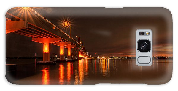Night Time Reflections At The Bridge Galaxy Case