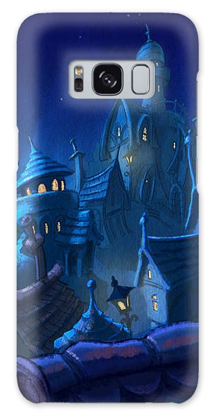 Night Town Galaxy Case