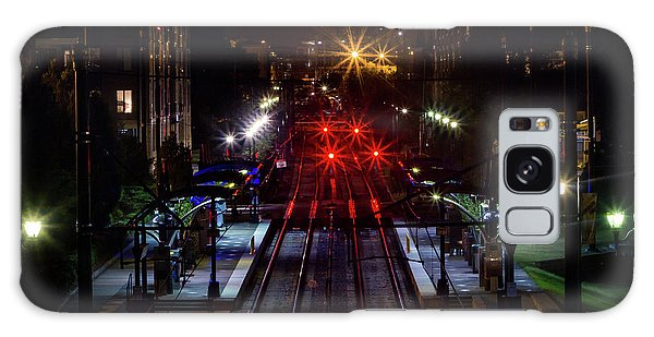 Night Tracks Galaxy Case
