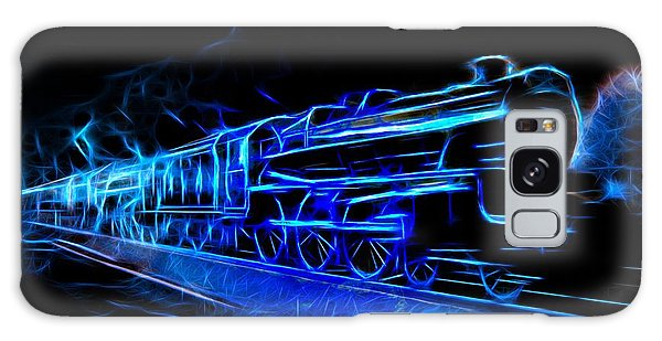 Galaxy Case featuring the photograph Night Train To Romance by Aaron Berg
