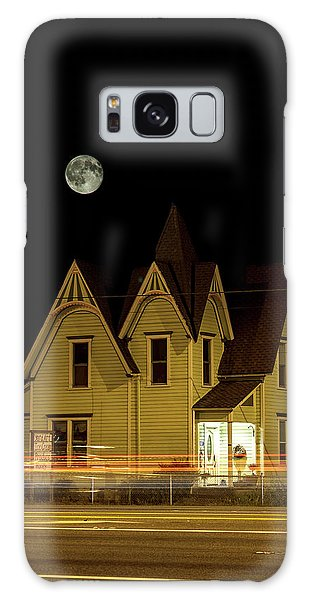 Night View Galaxy Case