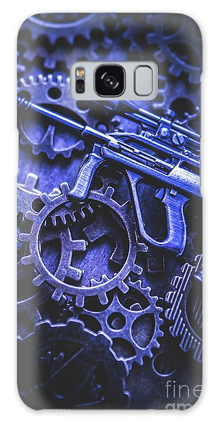 Warfare Galaxy Case - Night Watch Gears by Jorgo Photography - Wall Art Gallery