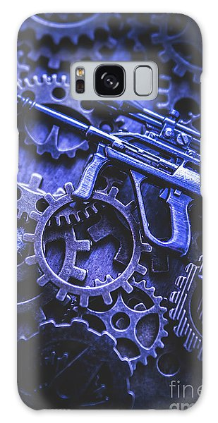 Assault Galaxy Case - Night Watch Gears by Jorgo Photography - Wall Art Gallery