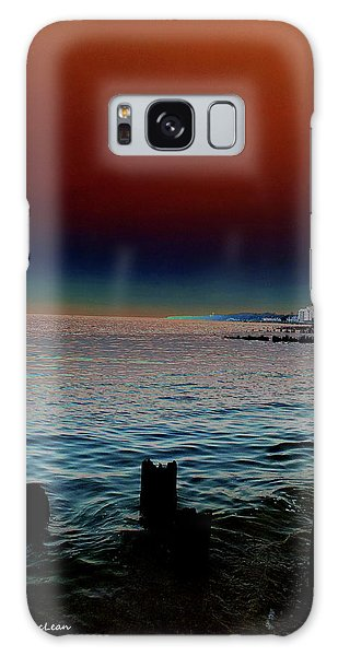 Night Winds And Waves Galaxy Case