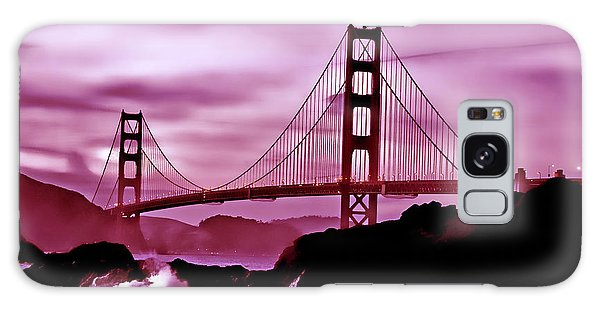 Nightfall At The Golden Gate Galaxy Case