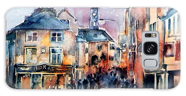 Nightfall. High St. Kilkenny City  Ireland  Galaxy Case