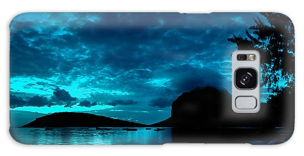 Nightfall In Mauritius Galaxy Case
