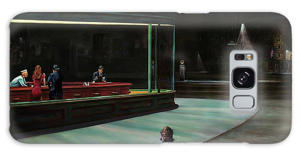Art Institute Galaxy Case - Nighthawks by Antonio Ortiz