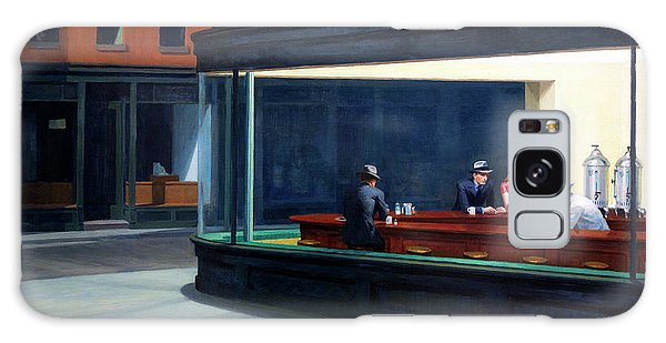 Chicago Art Galaxy Case - Nighthawks By Edward Hopper by Daniel Hagerman