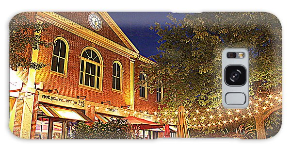 Nightime In Newburyport Galaxy Case