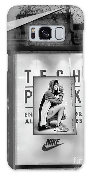 Nike Display Street Photo Black Retail Store  Galaxy Case