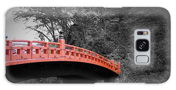 Temple Galaxy Case - Nikko Red Bridge by Naxart Studio