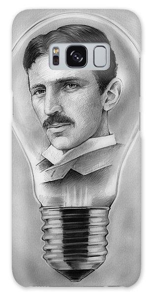 Nikola Tesla Galaxy Case