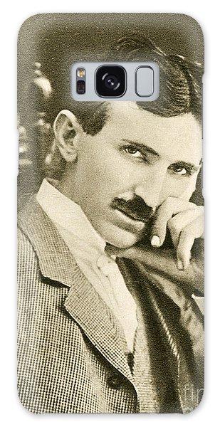 Nikola Tesla, Serbian-american Inventor Galaxy Case