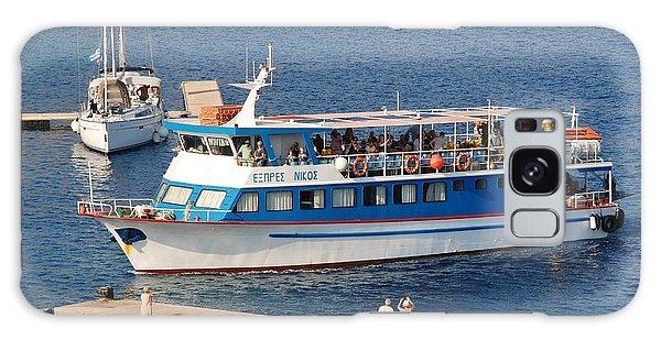 Nikos Express Ferry At Halki Galaxy Case