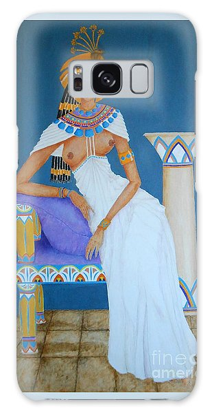 Nile Nymph -- Cleopatra, #1 In Famous Flirts Series Galaxy Case