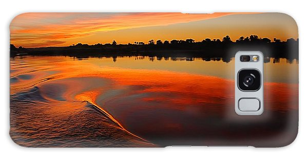 Nile Sunset Galaxy Case